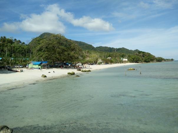 Pantai Pasir Putih (White Sand Beach)